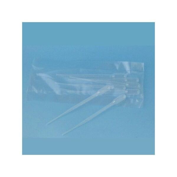 Pipetas Pasteur - 5 unidades