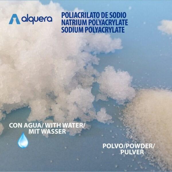 Poliacrilato de sodio 1Kg