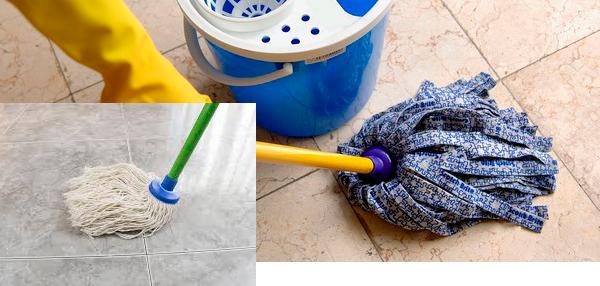 limpieza suelos marmol primer paso