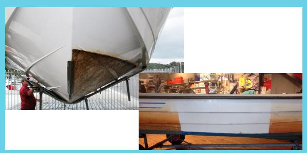 limpieza algas en embarcaciones